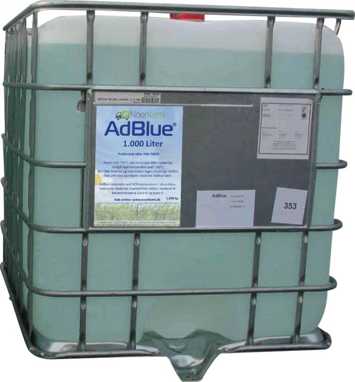 liter adblue i palletank adblue strongblue a s. Black Bedroom Furniture Sets. Home Design Ideas